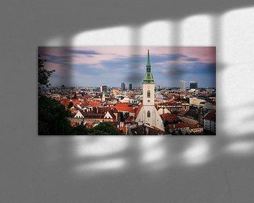 Bratislava Skyline / Martinsdom von Alexander Voss