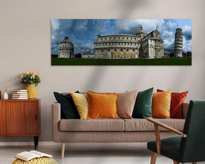 Sfeerimpressie: Panorama Pisa van Kim Claessen