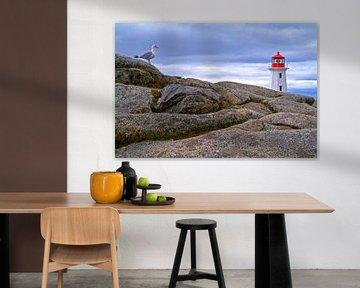 Peggys Cove, Nova Scotia, Kanada von Hans-Peter Merten