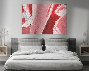abstrakt pink one von Susanne A. Pasquay