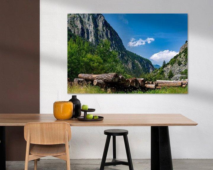 Sfeerimpressie: De Zwitserse bergen van Ton de Koning