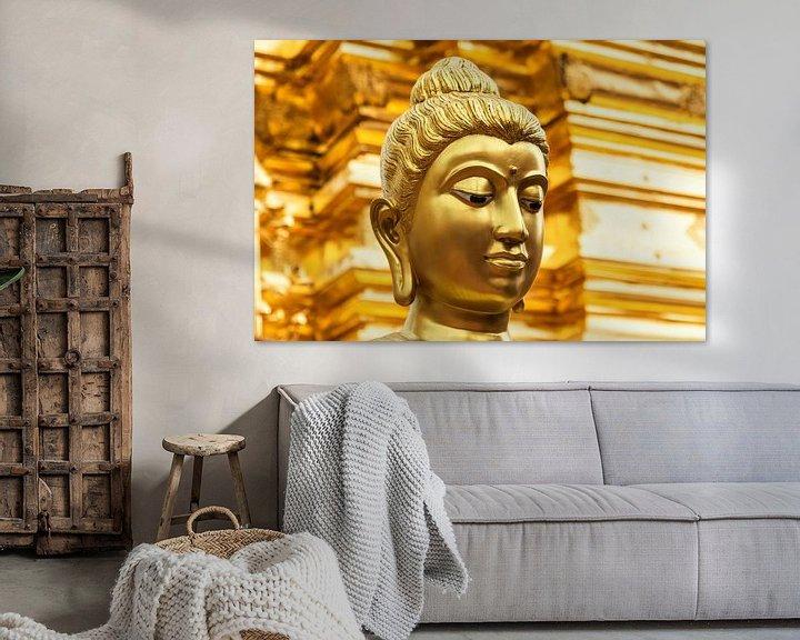 Sfeerimpressie: Golden buddha van Ilya Korzelius
