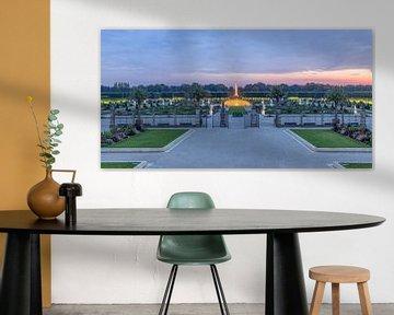 Herrenhäuser Gärten Panorama van Patrice von Collani