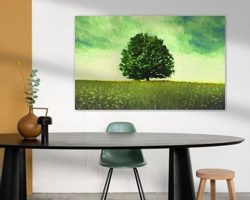 Solitaire boom van Angel Estevez