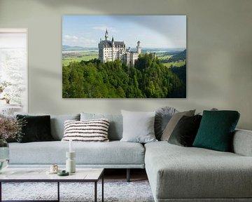 Château de Neuschwanstein sur Marianne Jonkman
