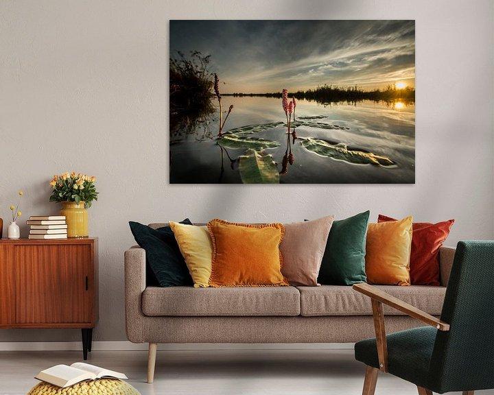 Sfeerimpressie: Waterplant van Johan Vet