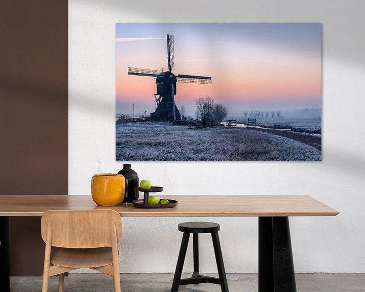 Sfeerimpressie: Cold Moring Kinderdijk van Arnoud van de Weerd