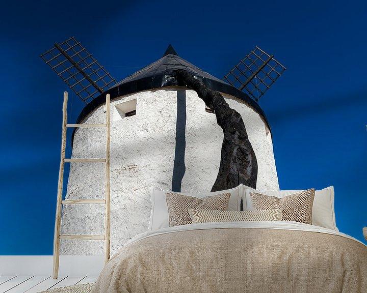 Sfeerimpressie behang: Windmolen van Maerten Prins