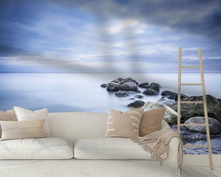 Beispiel fototapete: Nebelmeer von Sebastian Holtz