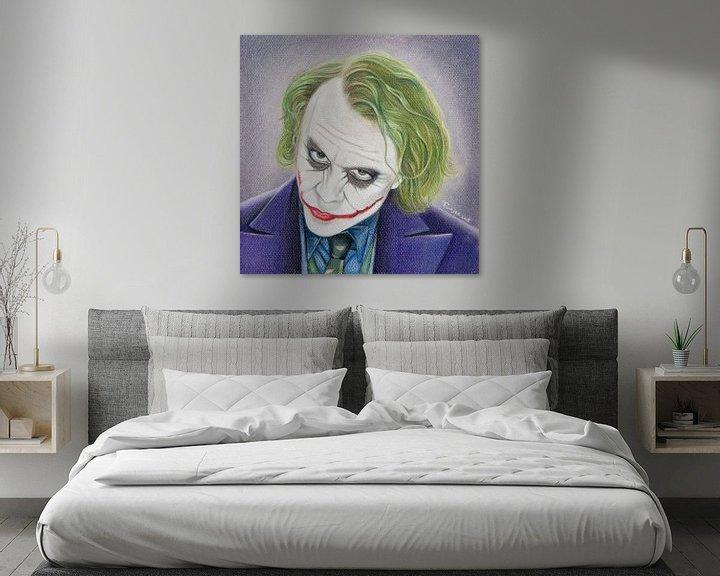 Beispiel: The Joker (Heath Ledger) von Tamara Witjes