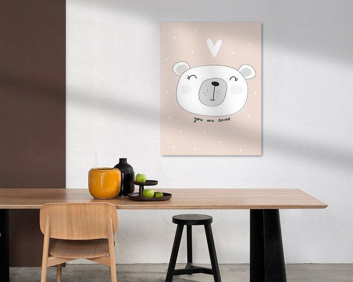 Sfeerimpressie: Kinderkamer Poster, Dieren Poster, Tekst Poster, van AMB-IANCE .com