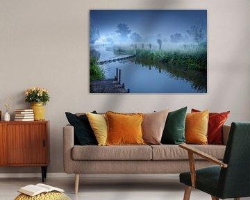 Zwalm sunrise von Wim van D