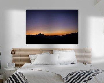 Zonsondergang op Corsica, Frankrijk sur Rosanne Langenberg