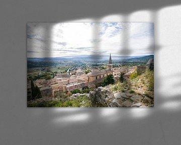 Saint Saturnin les Apt, Luberon, Frankrijk van Rosanne Langenberg