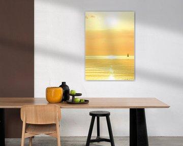 golden sunset von Claudia Moeckel