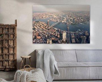 East River, New York van Bas Glaap
