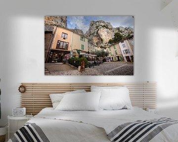 Moustiers Sainte Marie in de Provence in Frankrijk van Rosanne Langenberg
