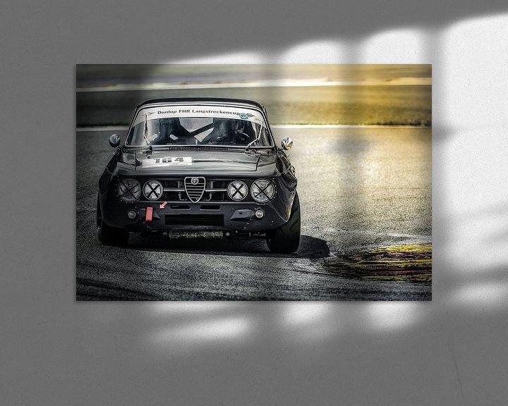 Sfeerimpressie: Alfa Romeo GTAm tijdens Youngtimerfestival Spa 2017 van autofotografie nederland