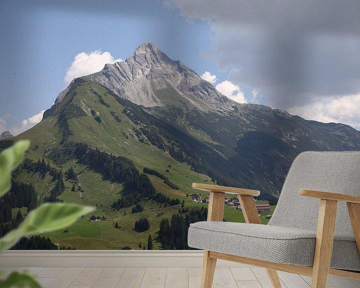 Sfeerimpressie behang: Alps mountains van Erich Werner
