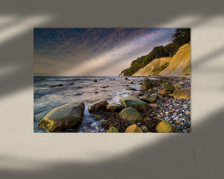 Beispiel: Kreideküste auf Insel Rügen von Martin Wasilewski