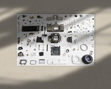 Camera exploded von Casper Smit