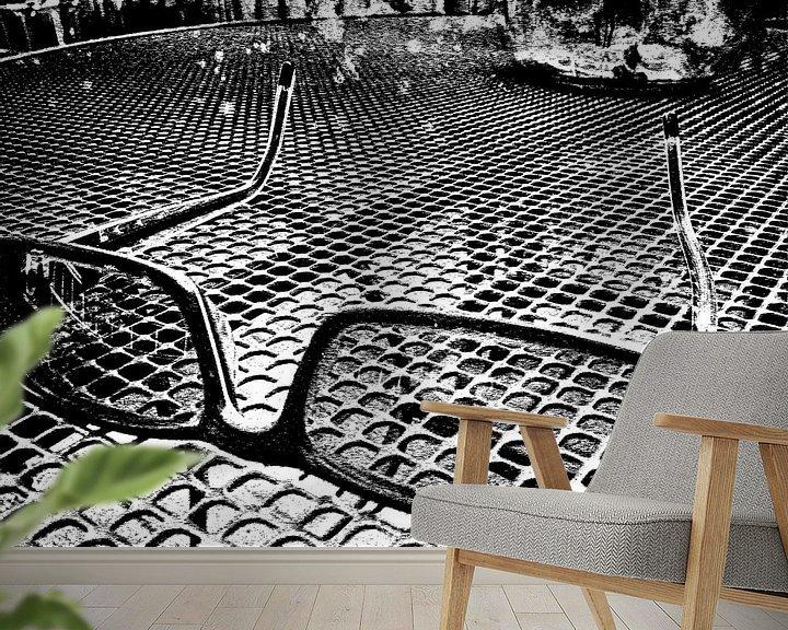 Beispiel fototapete: Zonnebril von PictureWork - Digital artist