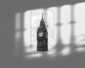 Big Ben zwart-wit