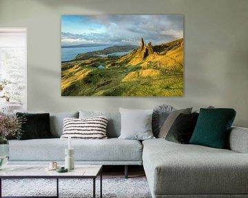 Morning at the Old Man of Storr, Isle of Skye van Michael Valjak