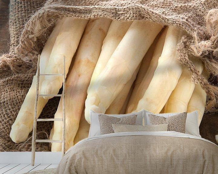 Sfeerimpressie behang: asperges0064 van Liesbeth Govers voor omdewest.com