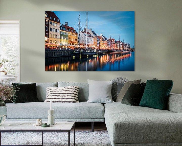 Sfeerimpressie: Copenhagen - Nyhavn van Alexander Voss
