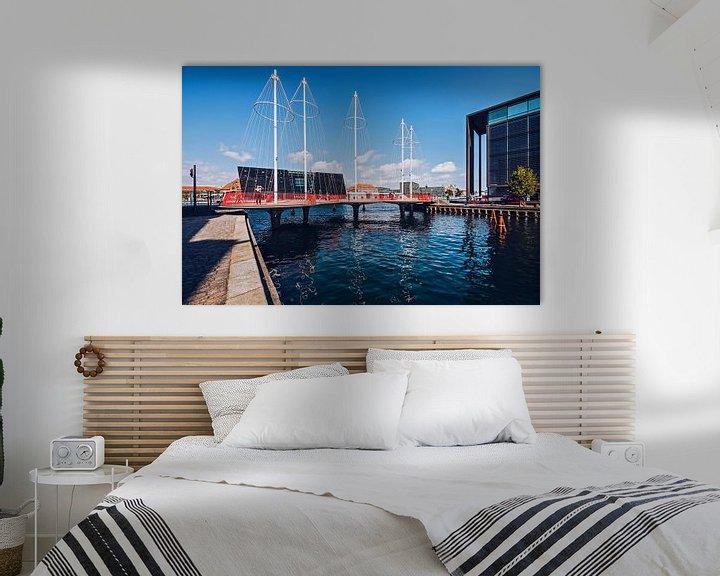 Impression: Kopenhagen - Cirkelbroen-Brücke sur Alexander Voss