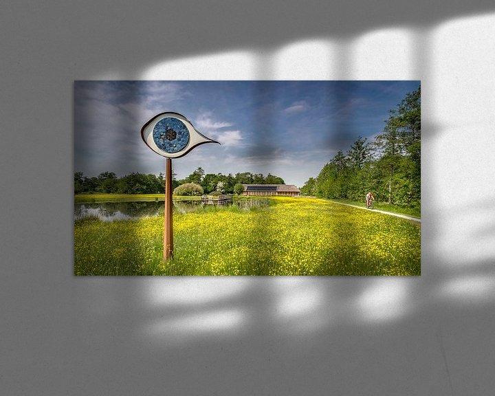 Sfeerimpressie: Het oog van het Curringherveld te Kornhorn van Martijn van Dellen