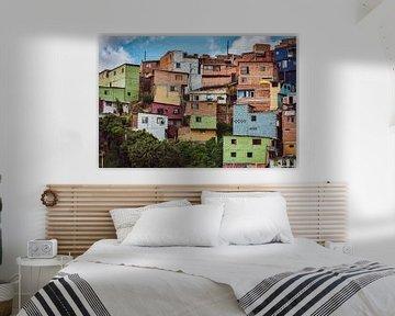 Comuna 13 Medellin van Ronne Vinkx