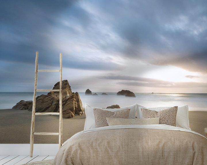 Sfeerimpressie behang: Playa los Angeles van Ronne Vinkx