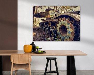 Verlaten Militaire Tank von Art By Dominic