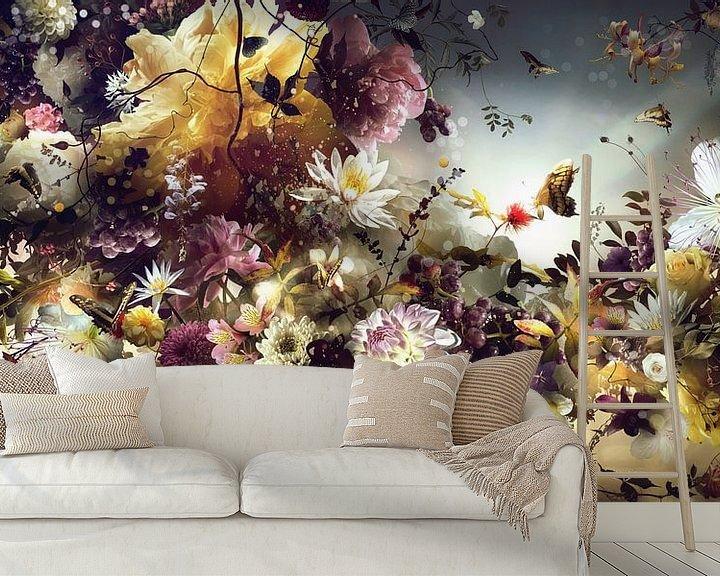 Sfeerimpressie behang: Golden Age van Jesper Krijgsman