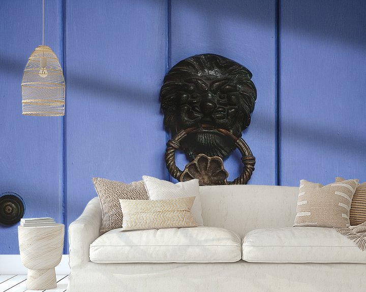 Sfeerimpressie behang: Cartagena deurklopper van Ronne Vinkx