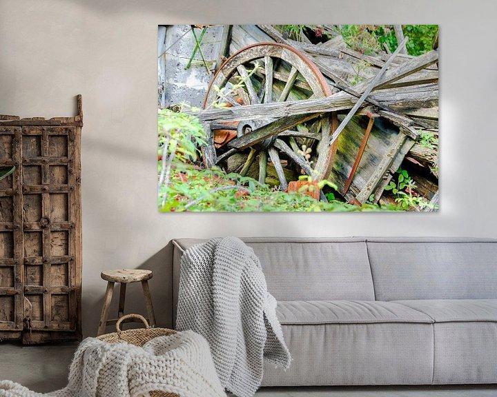 Sfeerimpressie: Urbex boerenwagen in verval van Peters Foto Nieuws l Beelderiseren