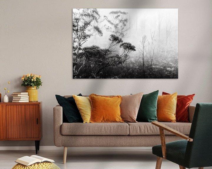 Beispiel: Regenwald im Nebel II von Ines van Megen-Thijssen