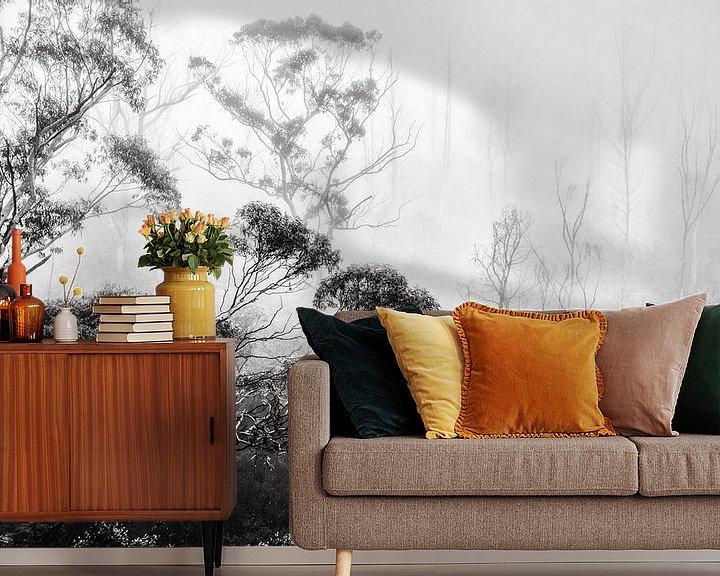Beispiel fototapete: Regenwald im Nebel II von Ines van Megen-Thijssen