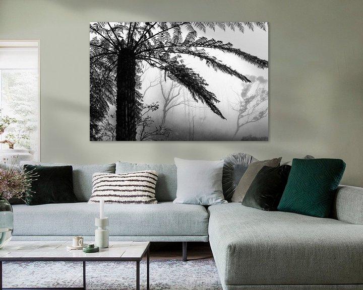 Beispiel: Regenwald im Nebel V von Ines van Megen-Thijssen