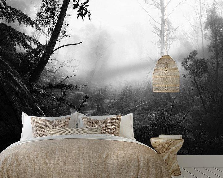 Beispiel fototapete: Regenwald im Nebel VII von Ines van Megen-Thijssen