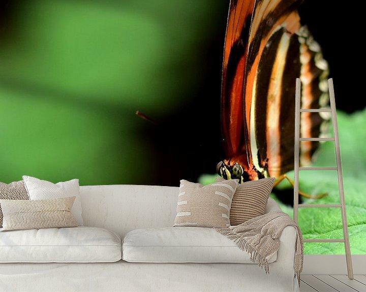 Sfeerimpressie behang: Lekker veel contrast van Kiki Schraa