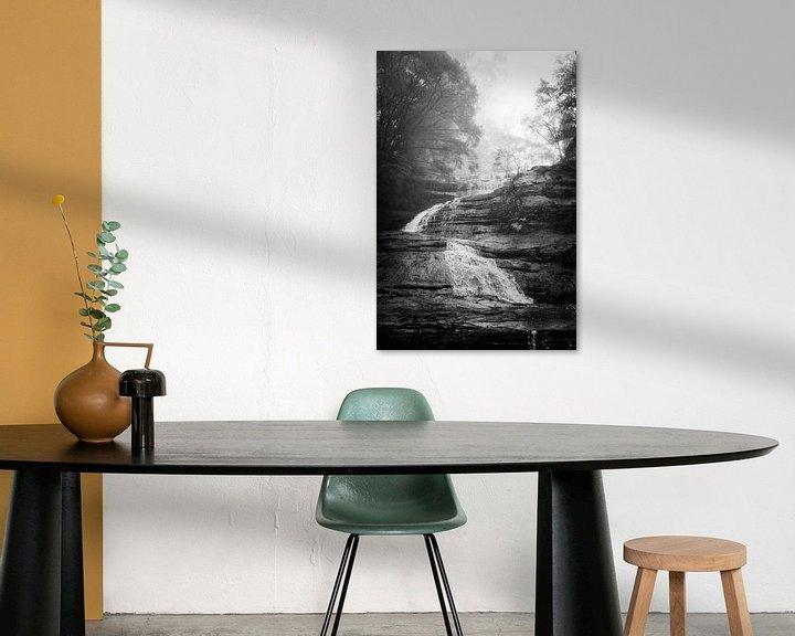 Beispiel: Regenwald im Nebel XIII von Ines van Megen-Thijssen