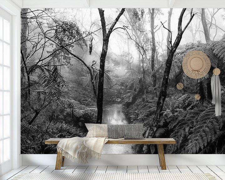 Beispiel fototapete: Regenwald im Nebel XIV von Ines van Megen-Thijssen