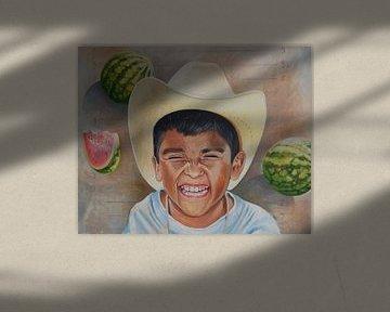 Mexican boy van Jeroen Quirijns