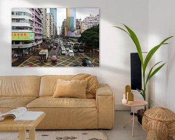 Mongkok - Hong Kong von Suzette Silvy