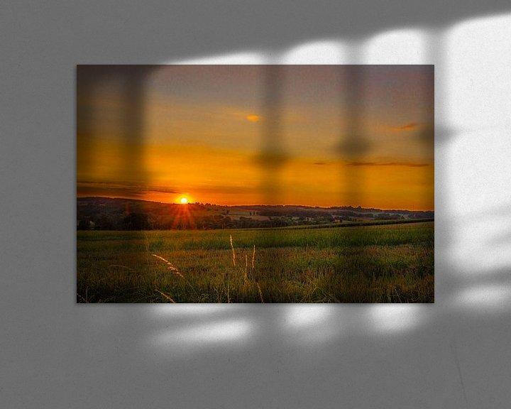 Sfeerimpressie: Zons ondergang-opkomst in de  heuvels van Peters Foto Nieuws l Beelderiseren