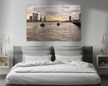 Skyline Rotterdam von Marcel Moonen @ MMC Artworks