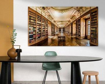 Benedictijner bibliotheek in Saint-Mihiel von Herman Coumans